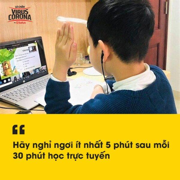 Trẻ học trực tuyến tại nhà phòng Covid-19: Làm gì để bảo vệ thị lực?