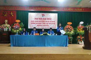 Đại hội đại biểu Đoàn Trường Cao đẳng Y Dược Tuệ Tĩnh Hà Nội nhiệm kỳ 2020 – 2023