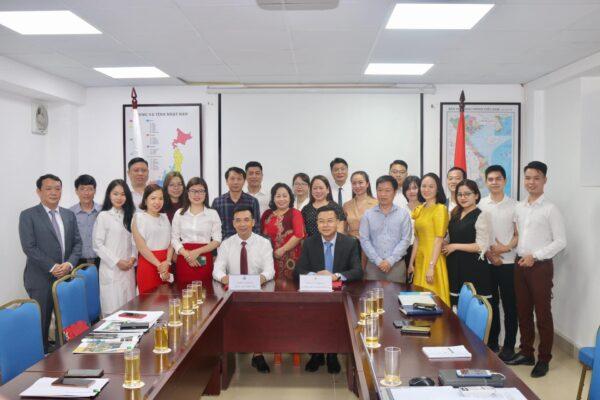 Lễ ký kết biên bản ghi nhớ hợp tác giữa Trường cao đẳng Y Dược Tuệ Tĩnh Hà Nội và tập đoàn Bảo Sơn