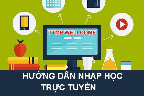 Hướng dẫn quy trình thủ tục nhập học trực tuyến cho tân sinh viên.