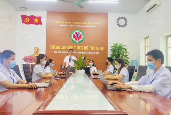 Chương trình tập huấn trực tuyến về công tác phòng chống Covid-19
